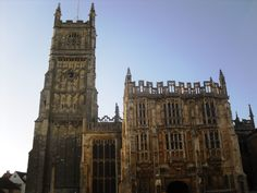 Cirencester Church and Town Hall