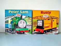 Thomas the tank engine book, thomas book, childrens train book, steam train, train, Peter sam, Rusty. Thomas The Tank, The Rev, Thomas And Friends, Steam Engine, Diesel Engine, Magpie, Uk Shop, Paperback Books