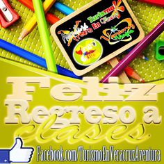 Feliz regreso a #clases #megusta http://www.Facebook.com/TurismoEnVeracruzAventura #Veracruz #backtoschool