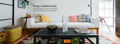 Um site sobre decoração, estilo de vida, faça você mesmo e muitas outras matérias interessantes com ideias para a sala, a cozinha, o quarto...