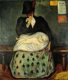 "Herencia (""Heritage""). Edvard Munch. 1897. The Munch Museum (Oslo). https://painthealth.wordpress.com/2016/04/20/herencia/"