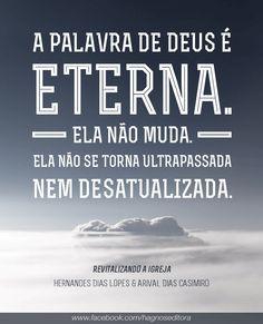 A Palavra de Deus é Eterna