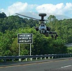 Speed Limit Enforced By Aircraft  Yea. Like seriously? Ha!
