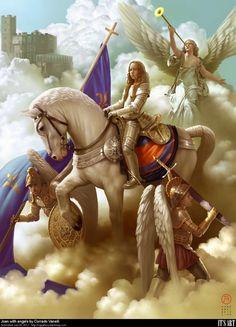 az embernek mindig felkészültnek kell lennie a gonosz ellen amíg él Istennel minden lehetséges