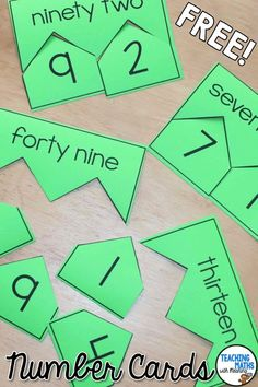 FREE 2 digit break up cards. Use as a Math warm up or center activity. Perfect Math game for Grade 1 & Grade 2 students (1st Grade & 2nd Grade). Simply print, copy, cut and play. 30 cards plus worksheet.