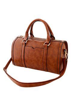 #ROMWE | Vintage Style Saddle Bag, The Latest Street Fashion