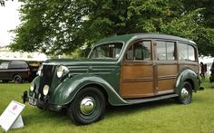 Another shooting brake is this 1951 Ford V8 Pilot ordered by King George VI. The King's untimely death in 1952 meant he had little chance to drive the Ford, but it was kept by the royal family for sentimental reasons