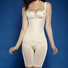 7a1a64fc6d3dc Sexy Women Underbust Full Body Shaper Shapewear Firm Tummy Control Slimming  Bodysuit(China) Waist