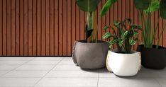 EcoSmart Fire Installation: Stitch 50 Ideas: Design Inspiration - - Outdoor Setting Plant Pot Collection, Digital Render