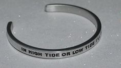 In High Tide Or Low Tide I'll Be By Your Side   by SayItAndWearIt