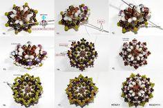 Ewa gyöngyös világa!: Rizolo gyűrű minta / Rizolo ring pattern
