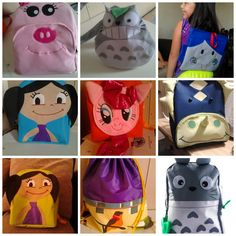 linea kids.... backpack mochilas