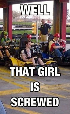 Well that girl is... Funny Picture to share nº 14626