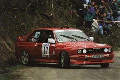 BMW E30 M3 Group A rally car