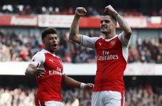 Granit Xhaka looks set to be available for Arsenal's trip to Southampton but ...
