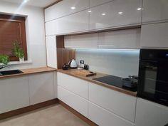 Kitchen Design Open, Best Kitchen Designs, Kitchen Cabinet Design, Kitchen Cabinetry, Kitchen Layout, Interior Design Kitchen, Home Decor Kitchen, Home Kitchens, White Wood Kitchens
