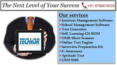Techior Solutions Pvt. Ltd. is a software product development company that developed several products in education sector. Visit us to know more: or Contact ---> 9766616435