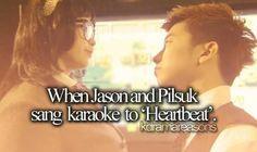 Dream High Jason and Pil Suk period.