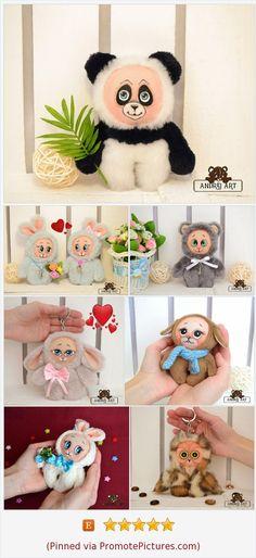 Keychain - toys. Art toys by DollsbyLilia Etsy shop Exclusive gifts https://www.etsy.com/shop/DollsbyLilia?ref=seller-platform-mcnav  (Pinned using https://PromotePictures.com)