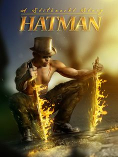 HATMAN - A Stilknecht Story by Rüdiger Lauktien, via Behance http://www.stilknecht.de/composing-filmplakat-hatman