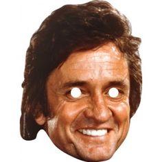 Johnny Cash Celebrity Face Mask 102