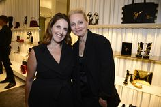 Tracy Shaffer and Alison Edmond @ Marie Claire event at Giuseppe Zanotti Design Beverly Center Boutique.