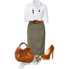 Classic office wear.. .