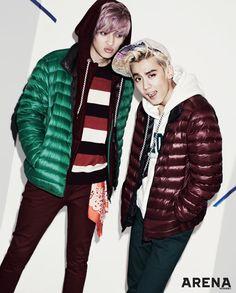 Teen Top's Niel and Chunji