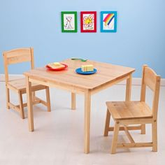 KidKraft Aspen Table and Chair Set - Activity Tables at Hayneedle