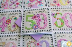 Vintage Too Age Cards by Blue Eyed Sun