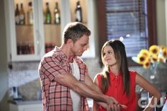 """""""The Undead and the Unsaid""""-- Pictured (L-R) Wilson Bethel as Wade and Rachel Bilson as Dr. Zoe Hart  in HART OF DIXIE on THE CW. Photo Credit: Greg Gayne/The CW©2011 The CW Network, LLC. All Rights Reserved"""
