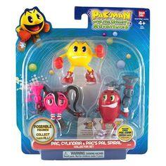 Pac-Man Pack 3 figurines set n° 1