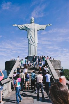 Christ the Redeemer Rio Brazil Cool Places To Visit, Places To Go, Vacation Places In Usa, Christ The Redeemer Statue, Travel Memories, Wonders Of The World, South America, Travel Inspiration, Travel Destinations