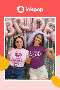 Ordering Your Bridal Shirts Should Be Easy & Inexpensive. A cute way to celebrate your bach, design your Bride Squad matching outfit! Bachelorette Outfits, Bridal Shirts, Matching Outfits, Tool Design, Squad, Bride, Celebrities, Easy, Cute