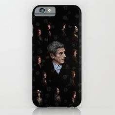All Doctor Who Regeneration IPHONE & IPOD CASE #iphone #Case #CellPhone #hardcase #cover #digital #drawing #ink #pen #colored #pencil #illustration #figurative #pattern #doctorwho #christmas #christmasgift #davidtennant #10thdoctor #tardisdoctorwho #tardis #thedoctor #12thdoctor