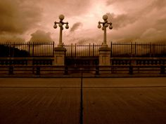 It's not surprising that many ghostly sightings have occurred at Suicide Bridge.