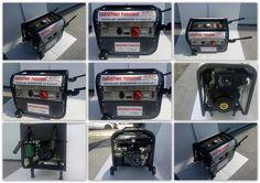 Generatore con avviamento elettrico 2800W e motore 4 tempi con ruote: Amazon.it: Fai da te