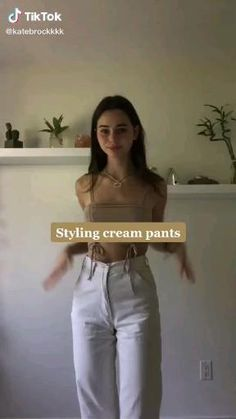 Teen Fashion Outfits, Indie Outfits, Fall Outfits, Aesthetic Fashion, Aesthetic Clothes, Cute Casual Outfits, Pretty Outfits, Stylish Outfits, Cream Pants