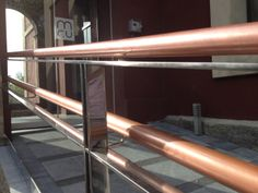 The Copper Museum in Barcelona has copper handrails to help prevent the spread of infection between visitors, and showcase the beauty of copper.