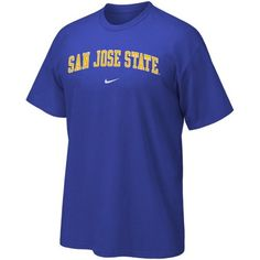 Nike San Jose State Spartans Royal Blue Classic College T-shirt