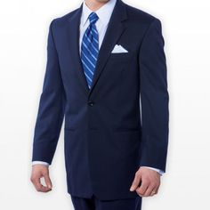 Navy twilight suit
