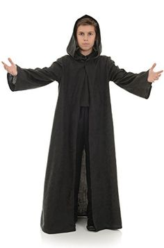 Kids Black Cloak with Hood ** Find out more about the great product at the image link-affiliate link