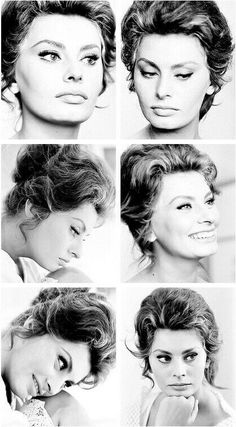 I have an obsession with Sophia Loren and Audrey Hepburn. Old Hollywood in general, actually! Carlo Ponti, Sophia Loren, Old Hollywood Glamour, Hollywood Stars, Classic Hollywood, Fred Astaire, Cinema, Italian Actress, Italian Beauty