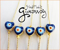 Jewelry #Giveaway! Enter to win gift card to HandeMadeIt by 11:59pm EST on February 15, 2014.