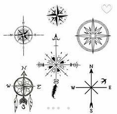 Bildergebnis für tattoo kompass (Best Tattoos)