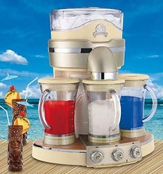 Margaritaville® Tahiti™ Frozen Concoction Maker with 3 Fully Automatic Blending Stations! Now you can throw your party!