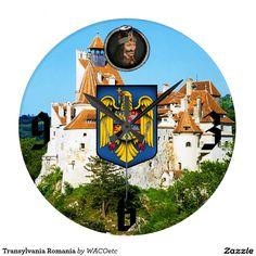Transylvania Romania Wallclock