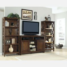 Spacious and elegant TV stand for your living area.