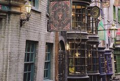New look inside Diagon Alley at the Wizarding World of Harry Potter.