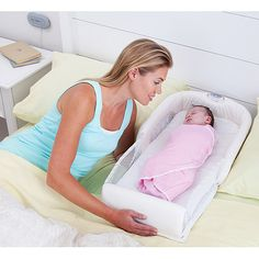 The First Years - Close and Secure Baby Sleeper. For the first night :)